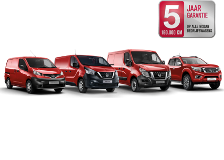 Nissan bedrijfswagens