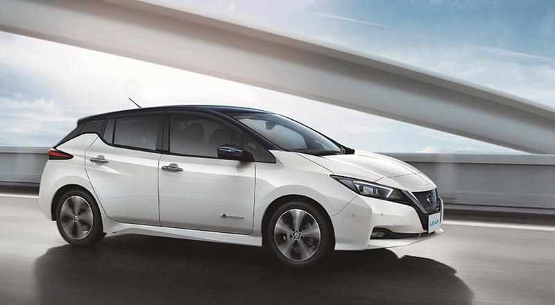 Nieuwe Nissan Leaf Exterieur