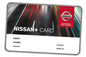 Nissan Klantenkaart