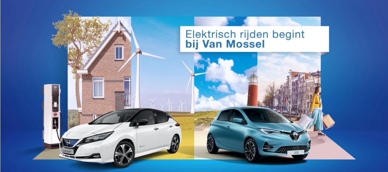 Elektrisch rijden begint bij Van Mossel