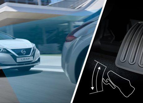 Nieuwe Nissan LEAF e-Pedal