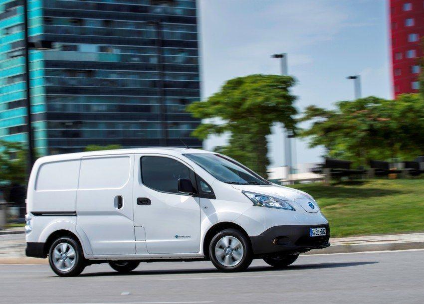 De 100 Elektrische Nissan Bedrijfswagen Nissan E Nv200