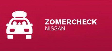 GRATIS Nissan Zomercheck