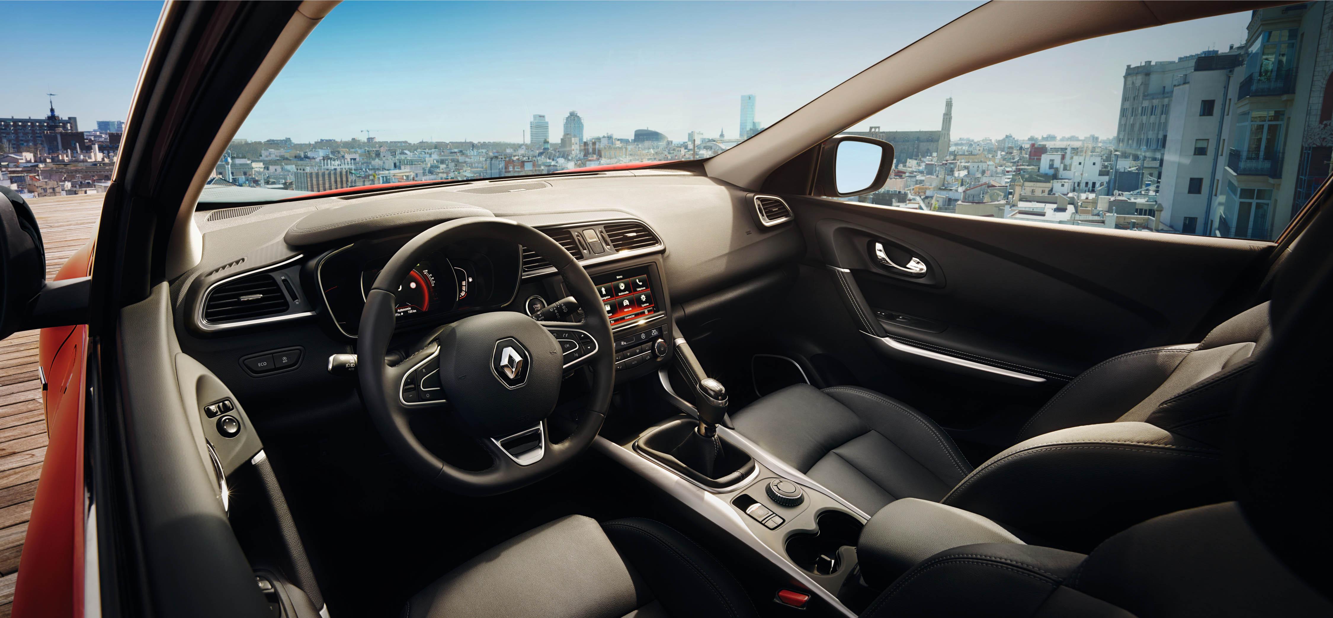 Renault kadjar uitvoeringen prijzen en meer bij vkv for Interieur renault kadjar