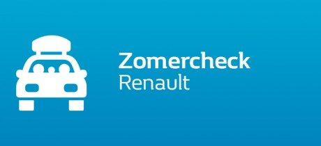 Doe nu de Renault zomercheck