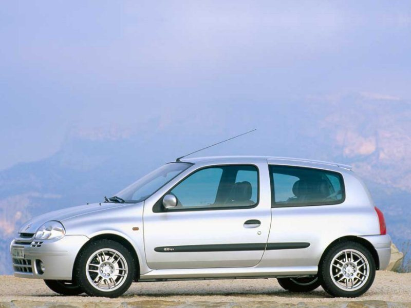 Renault clio ii rs for Interieur clio 2 2000