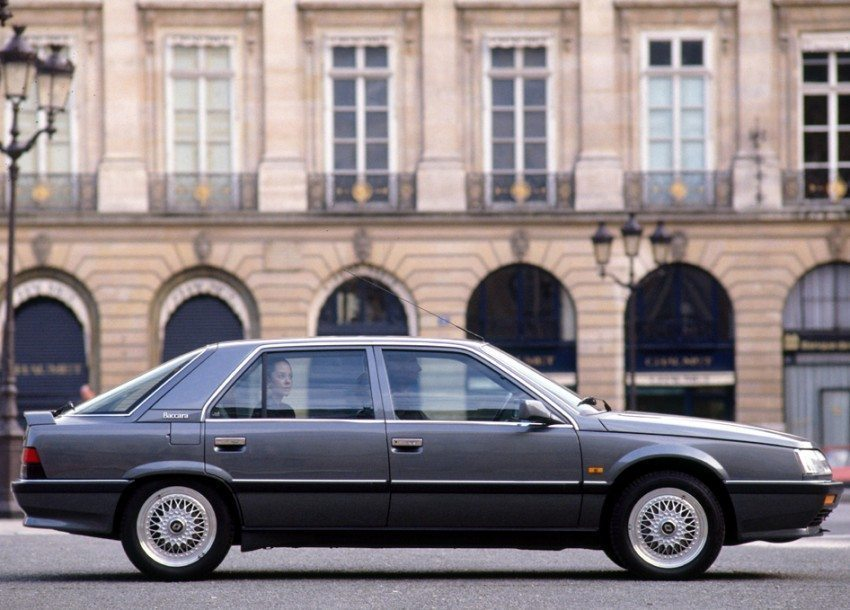 Historie: Renault 25 V6 Turbo