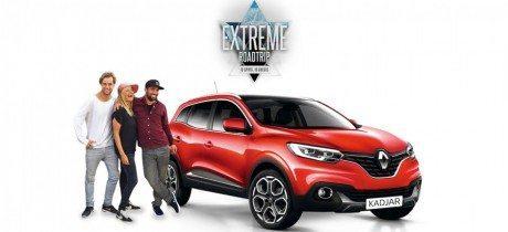 Hoofdrol voor Renault Kadjar in nieuwe RTL 5-serie Extreme Roadtrip