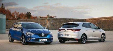 Nieuwe Renault Mégane staat in de showrooms