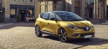 Renault onthult nieuwe Scénic