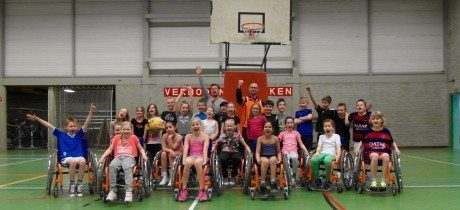 Van Mossel VKV sponsort clinic (S)Cool on Wheels