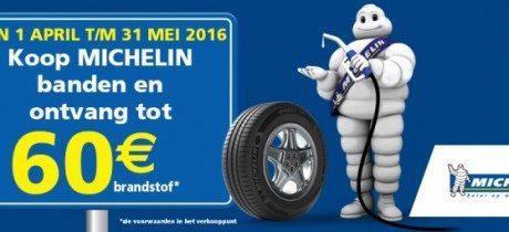 Michelin brandstof actie: tot 60 euro aan brandstof gratis!