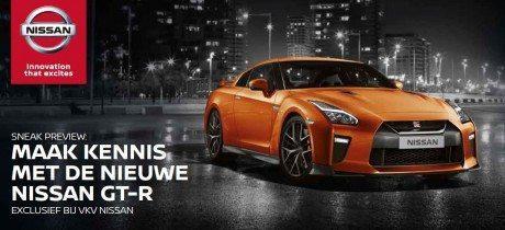 Maak op 3 en 4 mei kennis met de nieuwe Nissan GT-R