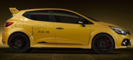 Renault Sport onthult concept car krachtigste Clio R.S. ooit: de Clio R.S.16