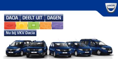 'Dacia Deelt Uit Dagen!' van 12 t/m 22 mei