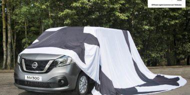 Nissan toont nieuwe NV300 in aanloop UEFA Champions League-finale