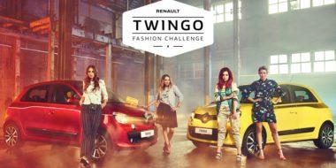 Vriendinnen dagen elkaar uit met Renault Twingo Fashion Challenge