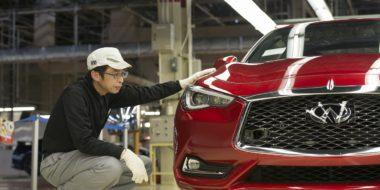 Productie nieuwe INFINITI Q60 sportscoupé gestart in Tochigi fabriek in Japan