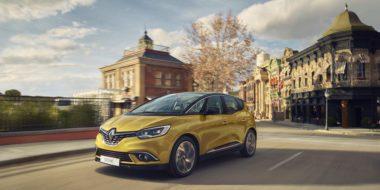 Maximale Euro NCAP-score voor nieuwe Renault SCÉNIC