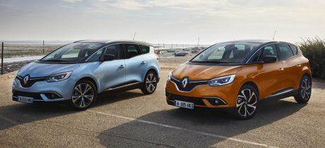 Renault introduceert nieuwe SCENIC en nieuwe GRAND SCENIC