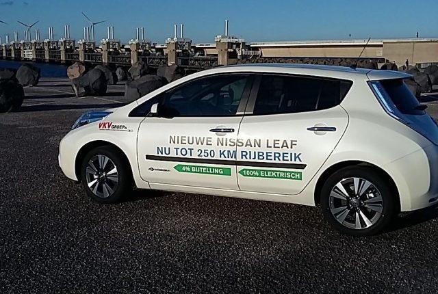 Rondje Nederland in de Nissan LEAF