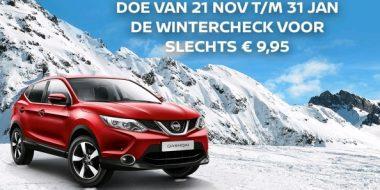 Doe de Nissan Wintercheck bij VKV Nissan