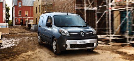 100% elektrische Renault Kangoo krijgt 50% grotere actieradius