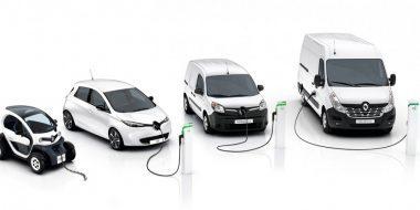 Wereldpremière: Nieuwe Renault Kangoo Z.E. en Nieuwe Master Z.E.