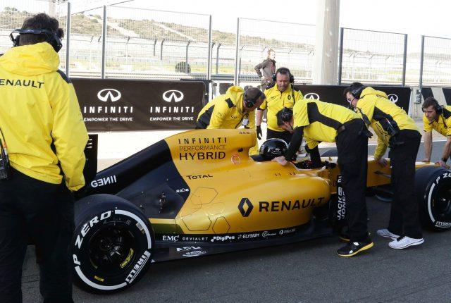 Onvergetelijke INFINITI F1 Experience!