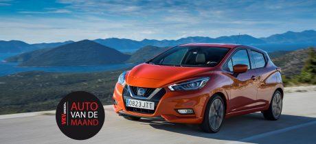 Nieuwe Nissan MICRA VKV Auto van de Maand