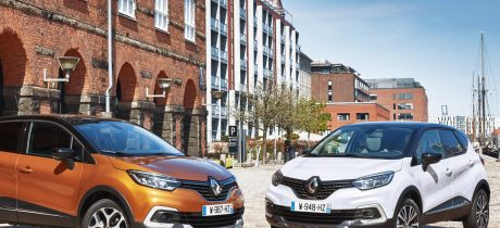De nieuwe Renault Captur in juni in de showroom