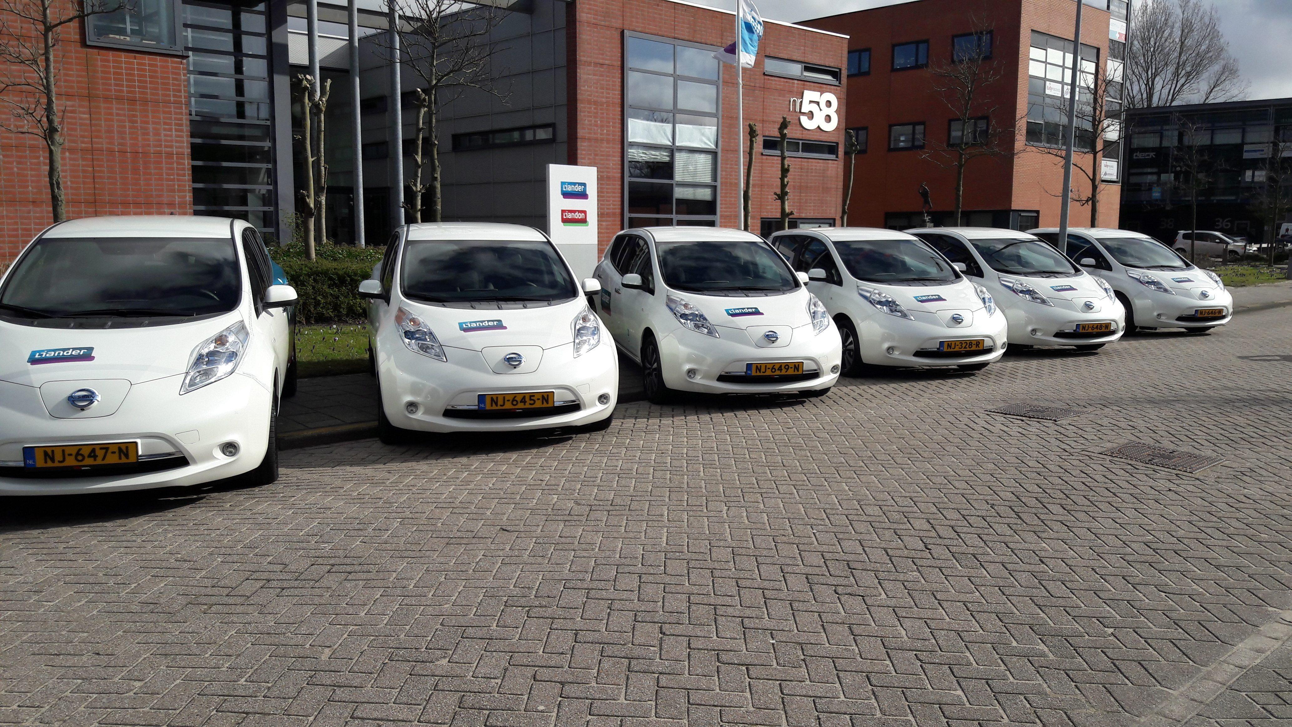 Nissan Leaf Lease >> Alliander - VKV Groep
