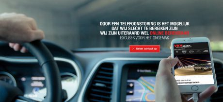 Telefonische bereikbaarheid beperkt i.v.m. nieuwe telefooncentrale