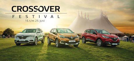 Maak kennis met de nieuwe Renault Captur én Koleos tijdens het Crossover Festival