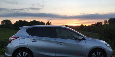Relaxen in de Nissan Pulsar