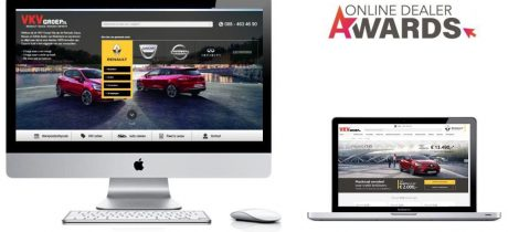 VKV Groep genomineerd voor Online Dealer Awards!