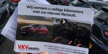 Fleetsales afleveringen in een sportief decor