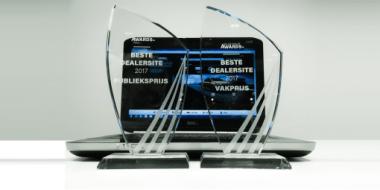 VKV Groep valt dubbel in de prijzen bij Online Dealer Awards