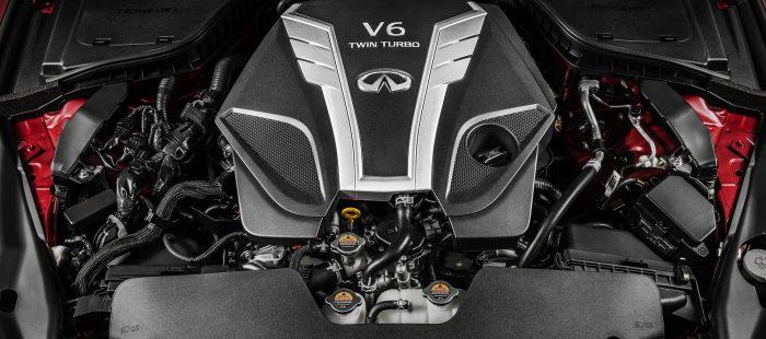 INFINITI VR-serie motor