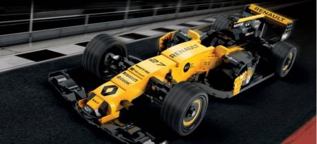Passend Sinterklaas cadeautje: F1 racewagen van 600.000 Lego steentjes