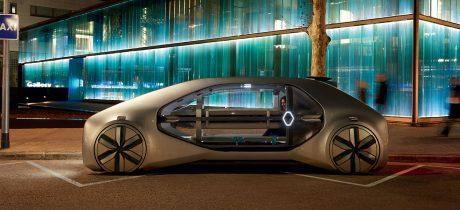 Renault EZ-GO, een visie op gedeelde stedelijke mobiliteit