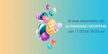 2e paasdag zijn alle Van Mossel VKV showrooms geopend!