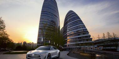 INFINITI bevestigt nieuw elektrisch voertuigplatform gebaseerd op de Q Inspiration