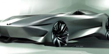 INFINITI ziet een elektrische toekomst met Prototype 10