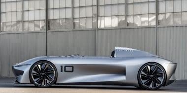 INFINITI Prototype 10 | De spirit van de speedster voor een elektrisch tijdperk