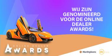 Van Mossel wederom genomineerd voor Online Dealer Awards!
