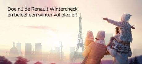 Doe nú de Renault Wintercheck en beleef een winter vol plezier!