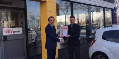 Van Mossel VKV Renault Culemborg 50 jaar lid van BOVAG
