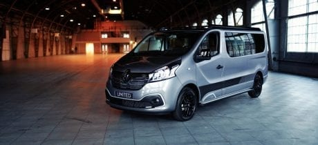 Renault introduceert Trafic LIMITED