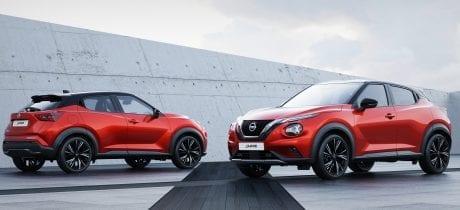 Dé nieuwe Nissan Juke, de coupé crossover van Nissan